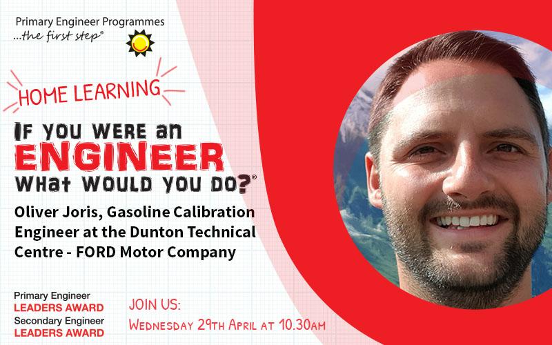Oliver-Joris-Ford-Motor-Company-Live-Online-Engineer-Interviews-Home-Learning
