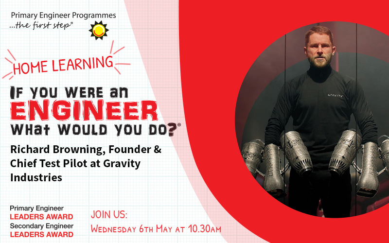 Richard-Browning-founder-Gravity-Industries-Live-online-engineer-interviews-home-learning